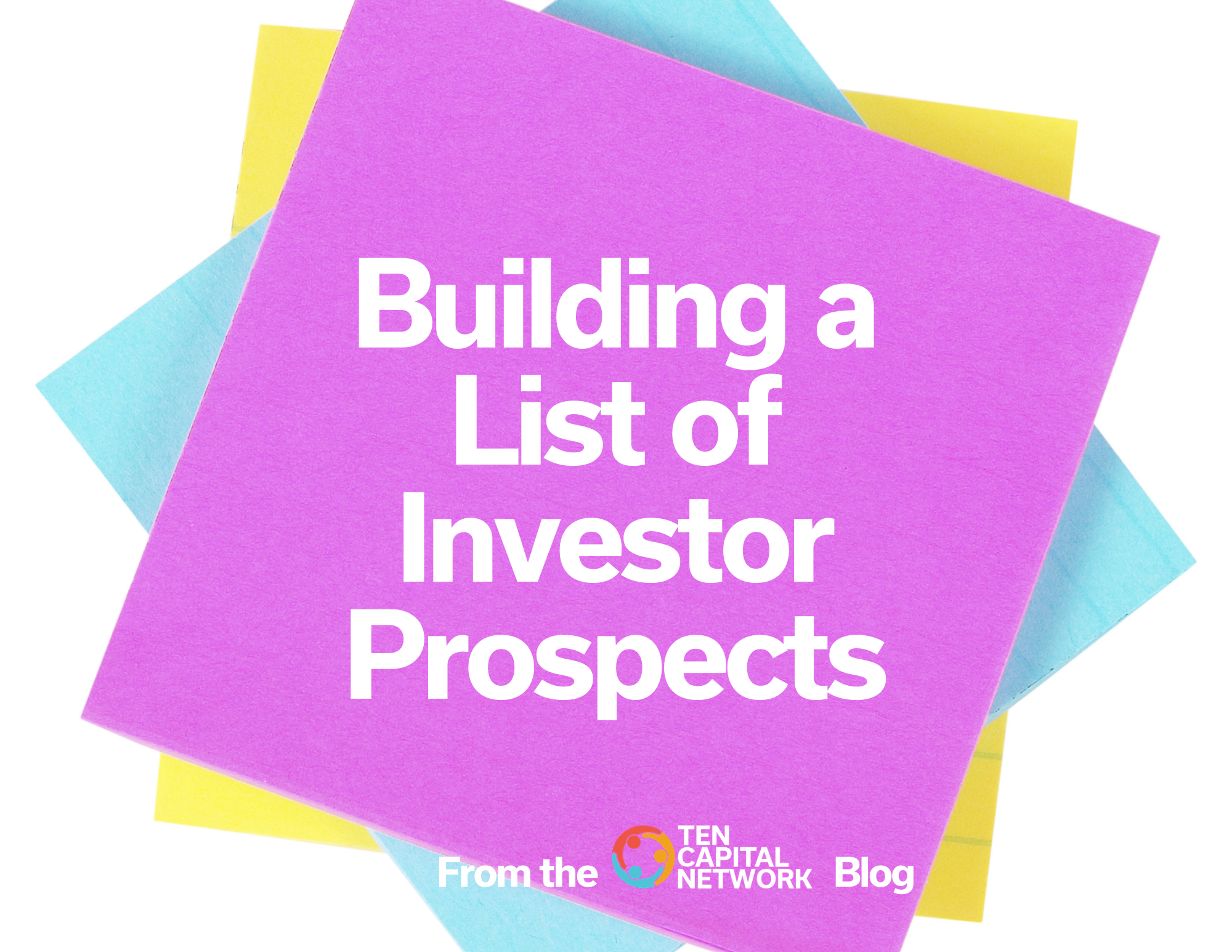 Building a List of Investor Prospects