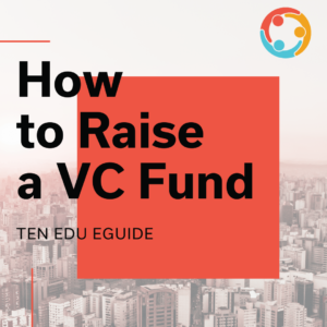 how to raise a VC fund
