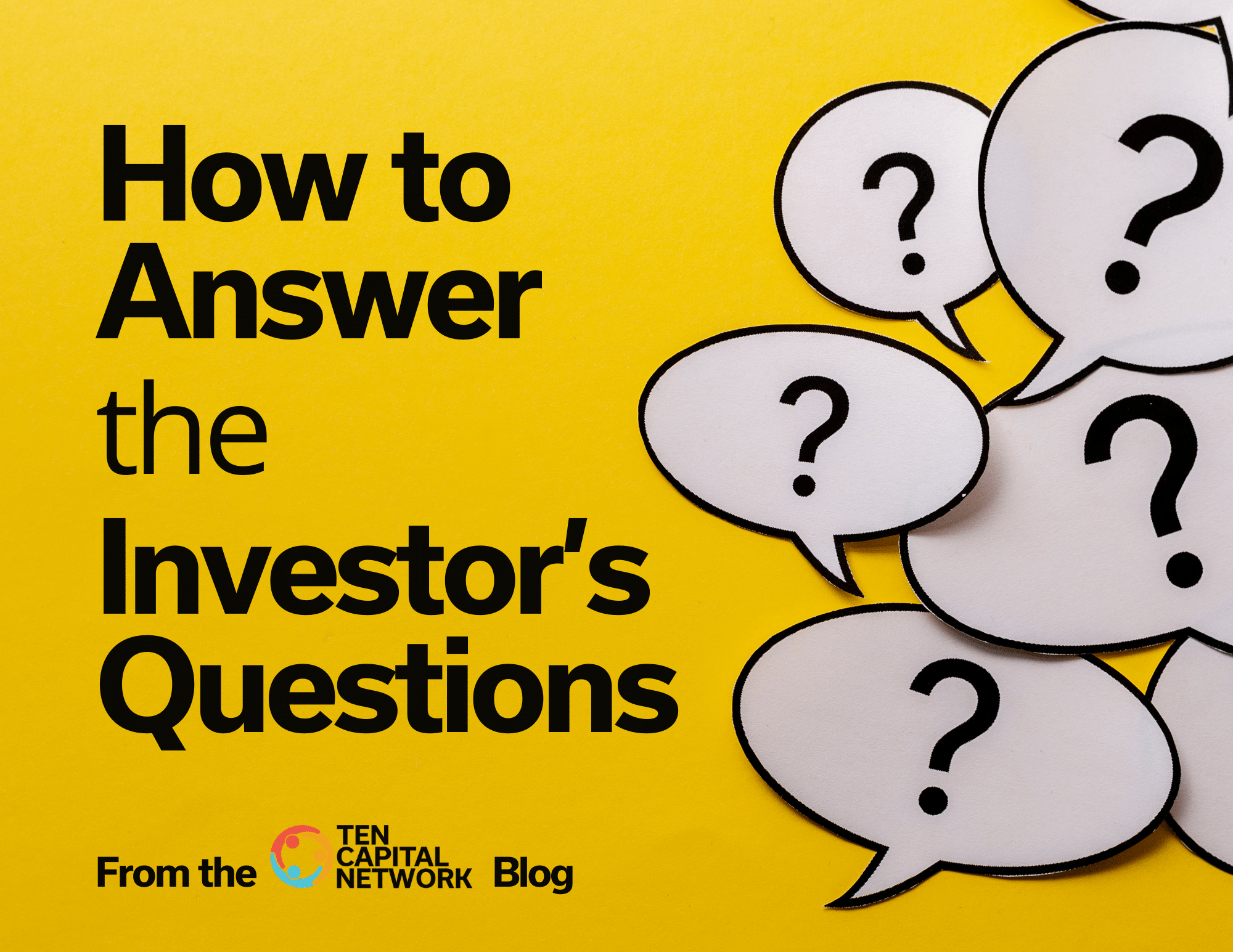 How to Answer the Investors Questions