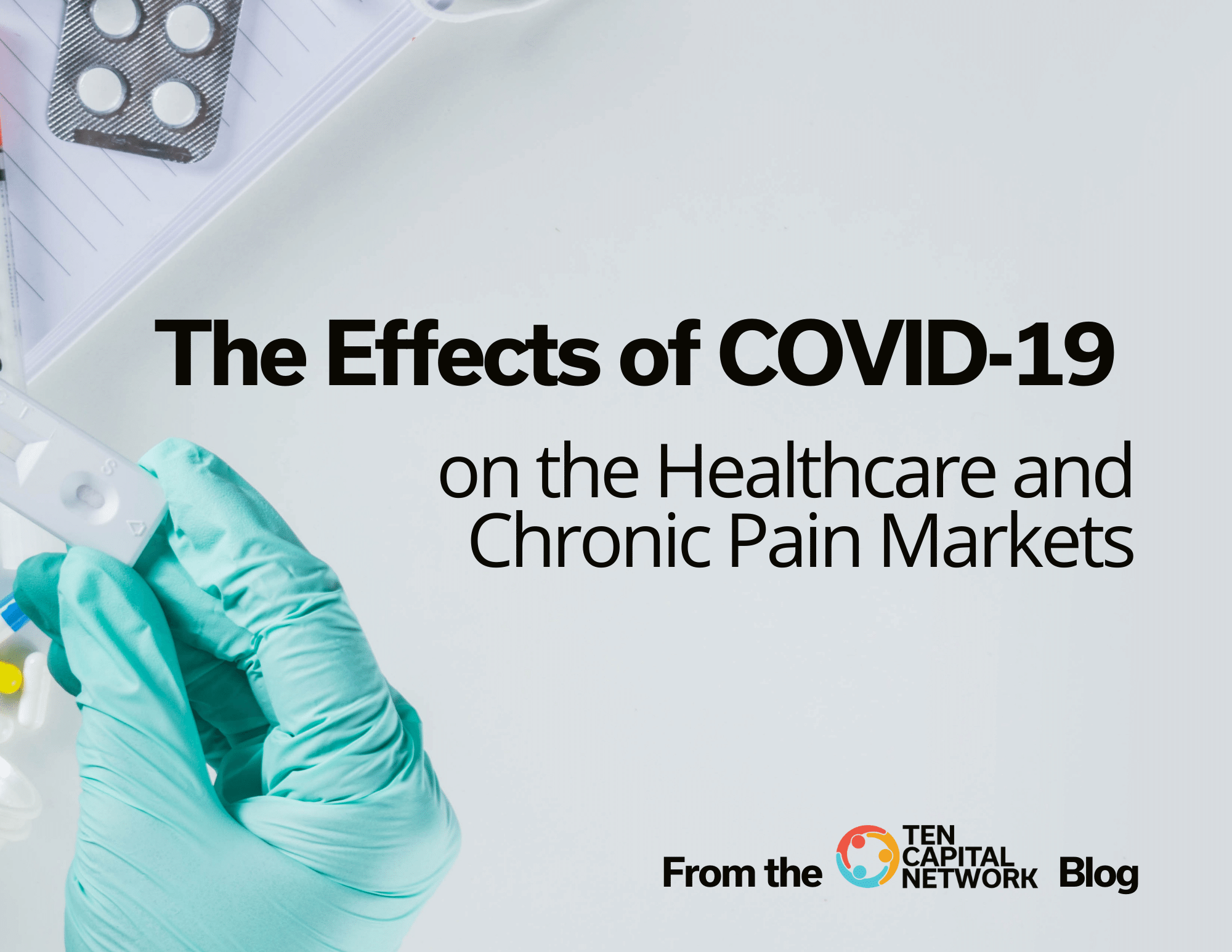 Effects of COVID-19 on the Healthcare and Chronic Pain Markets